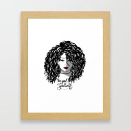 Ruby - Love Yourself Collection Framed Art Print
