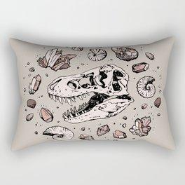 Geo-rex Vortex | Rose Quartz Rectangular Pillow