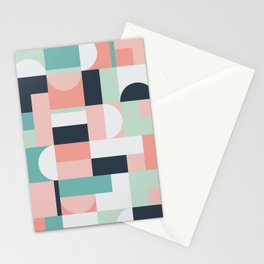 Abstract Geometric 08 Stationery Cards