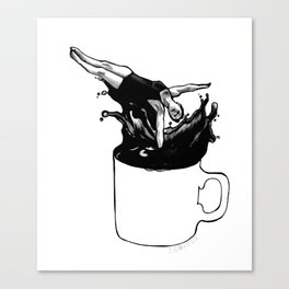 Mondays amirite? Canvas Print