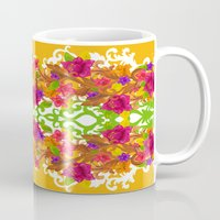 baroque Mugs featuring Baroque by Aimee St Hill