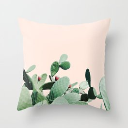 Cactus culture Throw Pillow