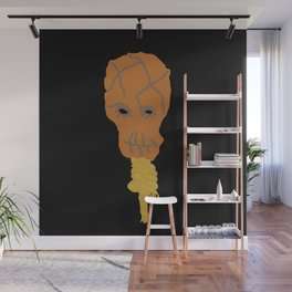 Scarecrow Icon Wall Mural