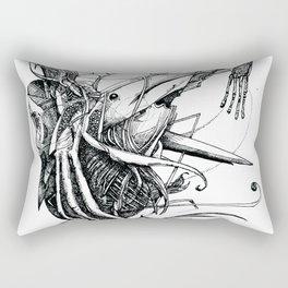 Aquatic Situation Rectangular Pillow