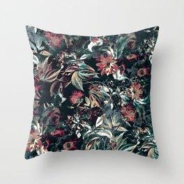 Space Garden Throw Pillow
