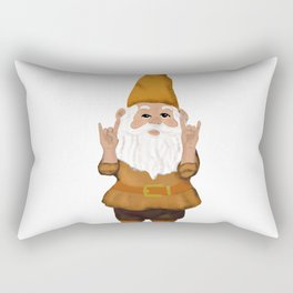 Hangin with my Gnomies - Devil' Horns / Rock On Rectangular Pillow