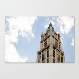 The Woolworth Building Canvas Print