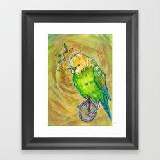 Unicycle Songs Framed Art Print