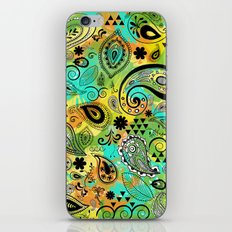 Crazy Paisley iPhone Skin