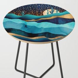 Indigo Desert Night Side Table