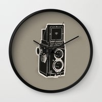 Rolleicord Wall Clock