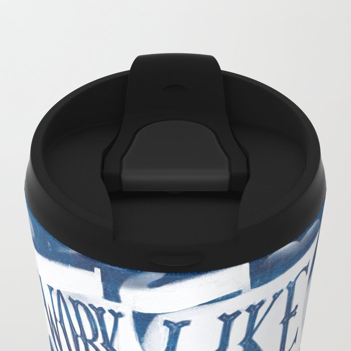 like a pirate Metal Travel Mug