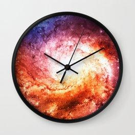 Spiral galaxy Wall Clock