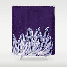 dark crystal night. Shower Curtain