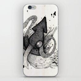 Squid & Ship iPhone Skin
