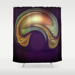 Intelligence Quotient Shower Curtain
