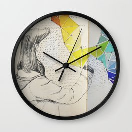 Galaxy Creator Wall Clock