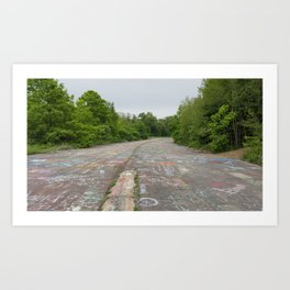 Graffiti Highway Art Print