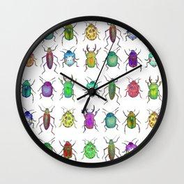 Little Monsters II Wall Clock