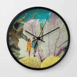 under water Wall Clock