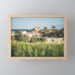 Famagusta City View Framed Mini Art Print