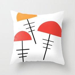Set Crown Throw Pillow