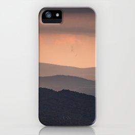 Blue Ridge Parkway Sunset - Shenandoah National Park iPhone Case