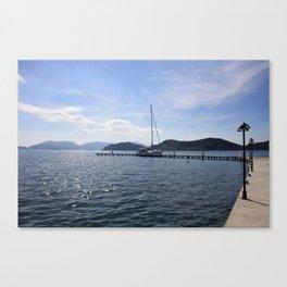 Exploring The Coast Less Travelled Canvas Print