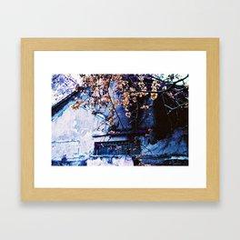 CONDEMNED / FINAL SPRING - Lomography Purple XR 100-400 - 35mm film Framed Art Print