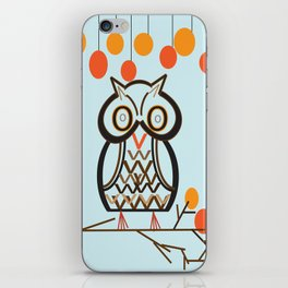 The Owl In Myriad Pro iPhone Skin