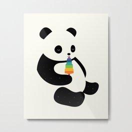 Panda Dream Metal Print