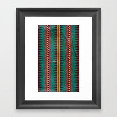 Geo Blanket Framed Art Print
