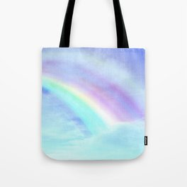 Watecolor Rainbow Tote Bag