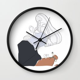 Sneakers Air Force 1 Wall Clock