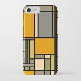 Frank Lloyd Wright Inspired Art iPhone Case