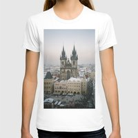 prague T-shirts featuring Prague by BriAnneWills