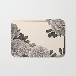 Flowers on a winter day Bath Mat