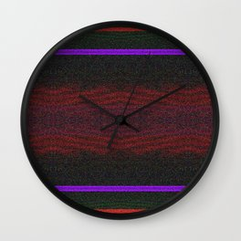 Cityscape at Night Moodboard  Wall Clock