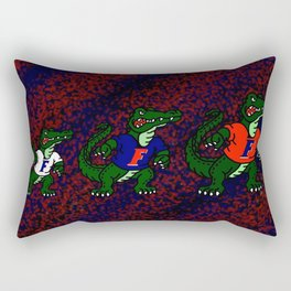 Go Gators! Rectangular Pillow