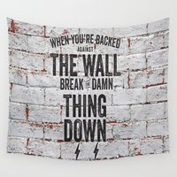 motivational Wall Tapestries featuring Motivational quote n. 2 by AnnaF31