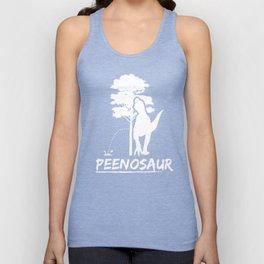 Funny Peenosaur Dinosaur Jurassic Jura Dino Design Unisex Tank Top