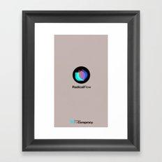 RF iphone Framed Art Print