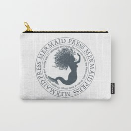 Mermaid With Coral Hair Carry-All Pouch