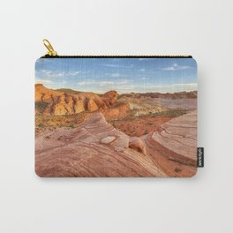 Fire Wave Beauty Carry-All Pouch