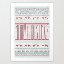 """merry""  Art Print"