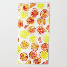 Orange Slice Beach Towel