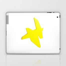 Abstract Re-Created Painting in Space Laptop & iPad Skin