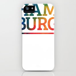 Hamburg iPhone Case