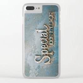 Vintage - Special Clear iPhone Case