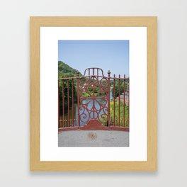 Ironbridge ironwork Framed Art Print